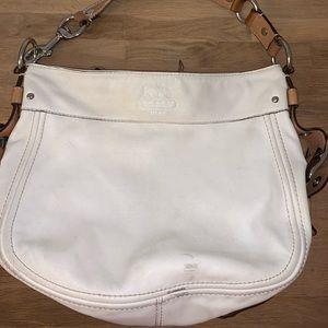 Coach IvoryLeather J0993-F12671 Purse Shoulder Bag